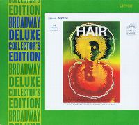 Cover Musical - Hair - The American Tribal Love-Rock Musical [The Original Broadway Cast Recording]